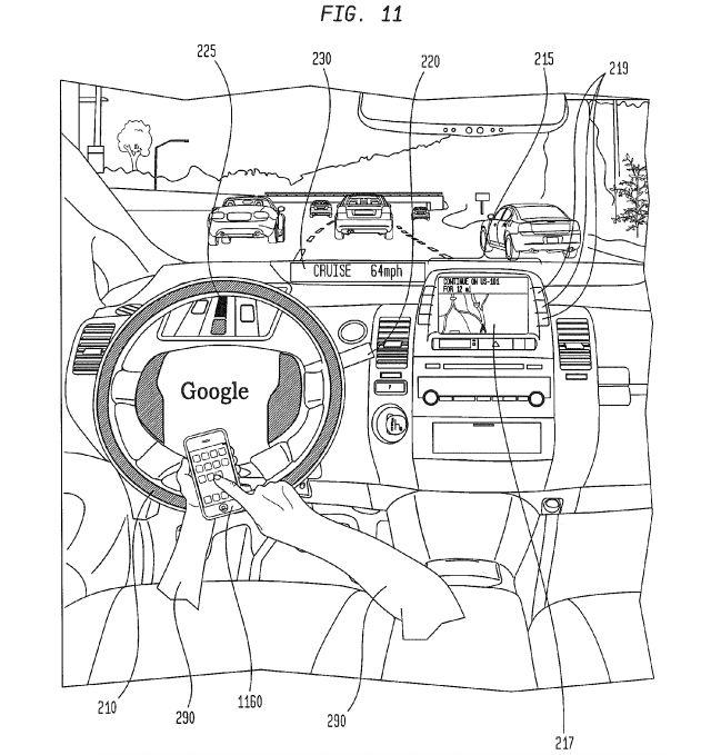Google Chauffeur patent - source: Reilly Brennan https://twitter.com/reillybrennan/status/643846750718033920